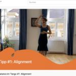 bessere Balance im Tango